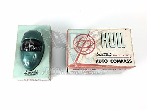 1955-1972 Vintage Hull Streamline Auto Compass 700 Series NOS